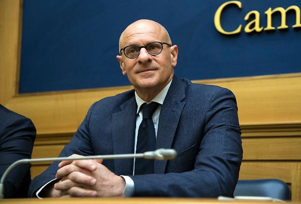 Fabio Rampelli, vicepresidente della Camera e deputato di Fratelli d'Italia.