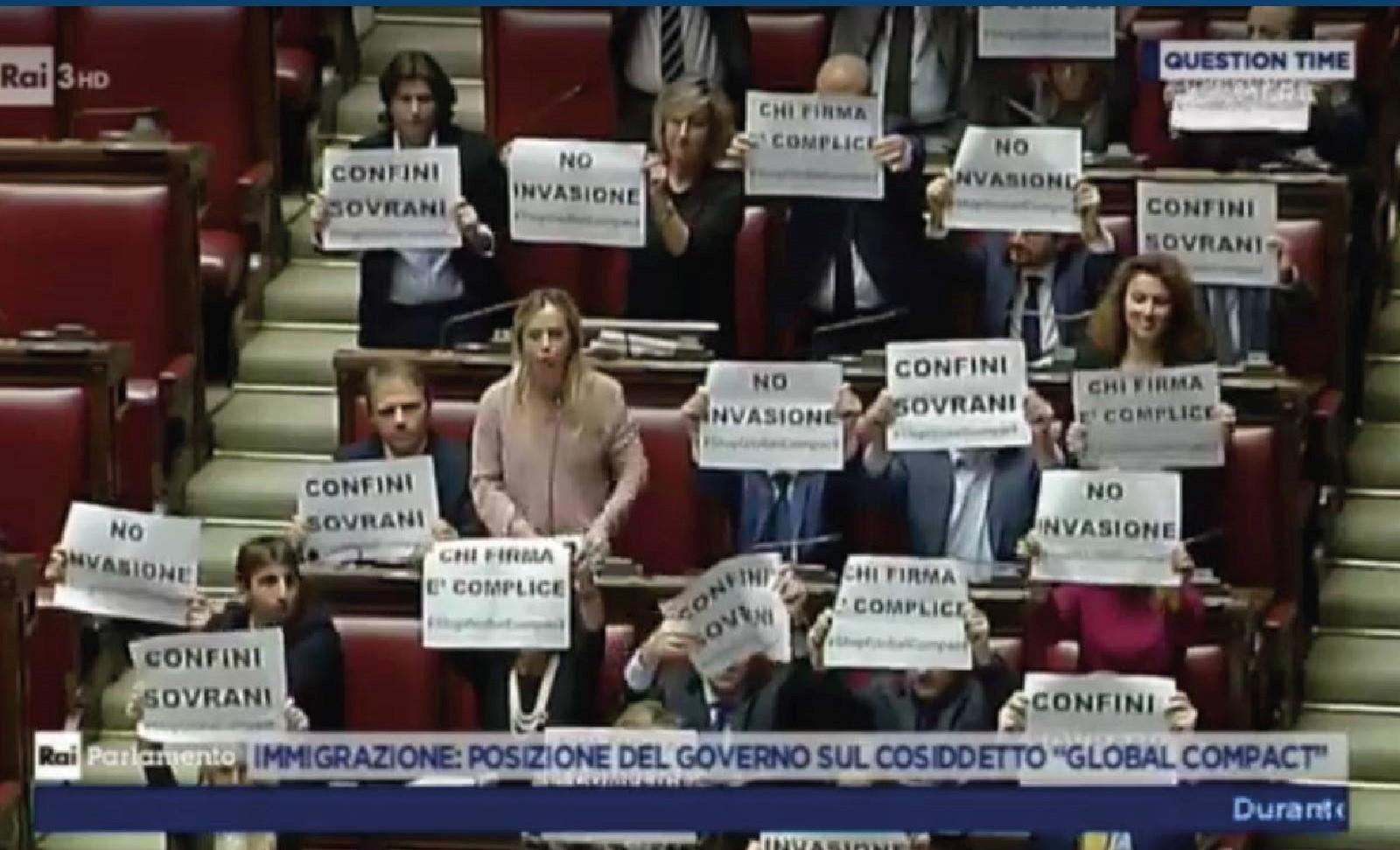 Conte dice si al Global Compact: il Governo sta con Soros?