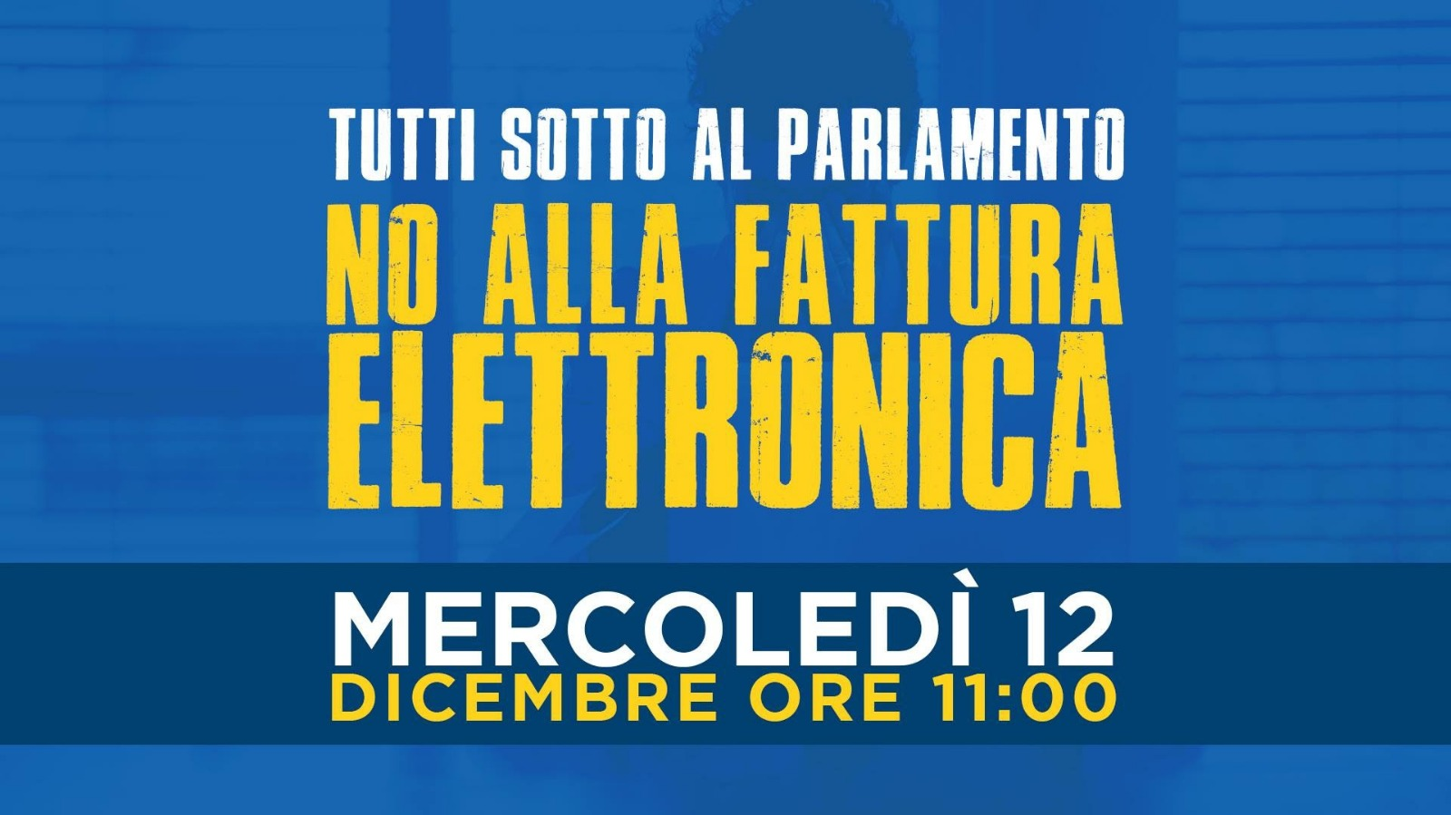 #noFatturaElettronica