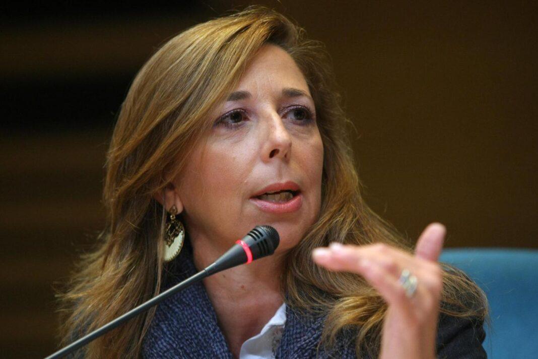 Senatrice di Fratelli d'Italia, Isabella Rauti, capogruppo in Commissione Difesa