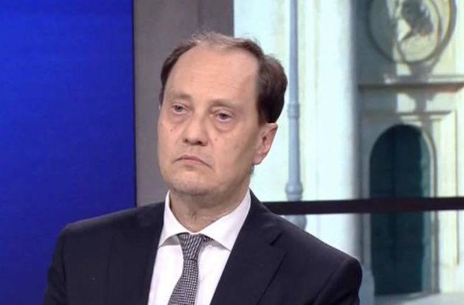 Luca Ciriani, capogruppo di Fratelli d'Italia al Senato