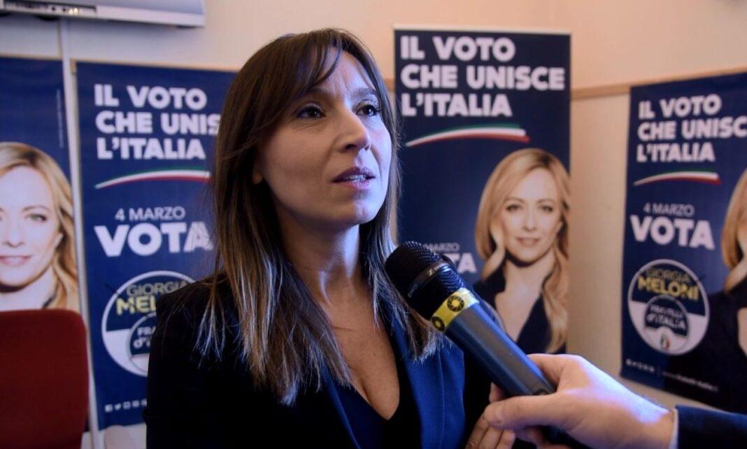 Ylenja Lucaselli, deputata di Fratelli d'Italia