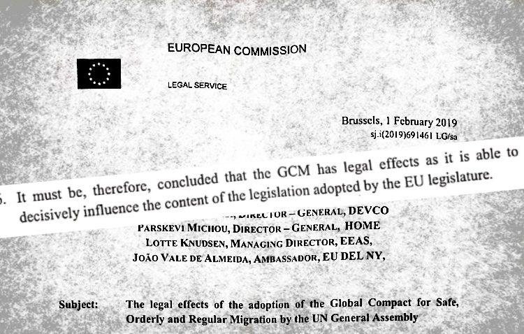 EXCLUSIVE  Global Compact: the EU secret document that makes it
