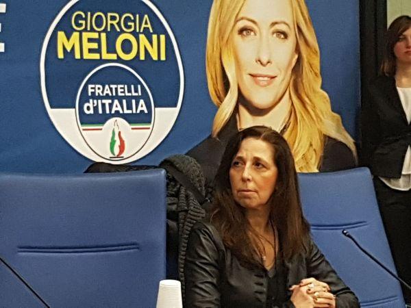 Isabella Rauti, vicepresidente vicario dei senatori di Fratelli d'Italia