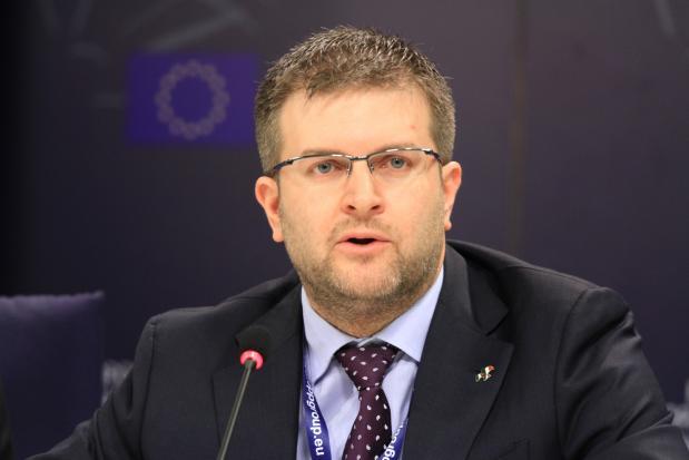 Carlo Fidanza, capodelegazione di Fratelli d'Italia-ECR al parlamento europeo