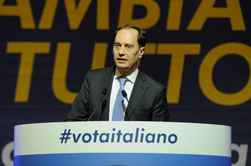 capogruppo di Fratello d'Italia in Senato Luca Ciriani