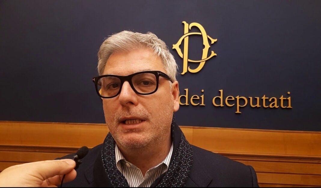 Federico Mollicone, deputato di Fratelli d'Italia e capogruppo Fdi in commissione Cultura.