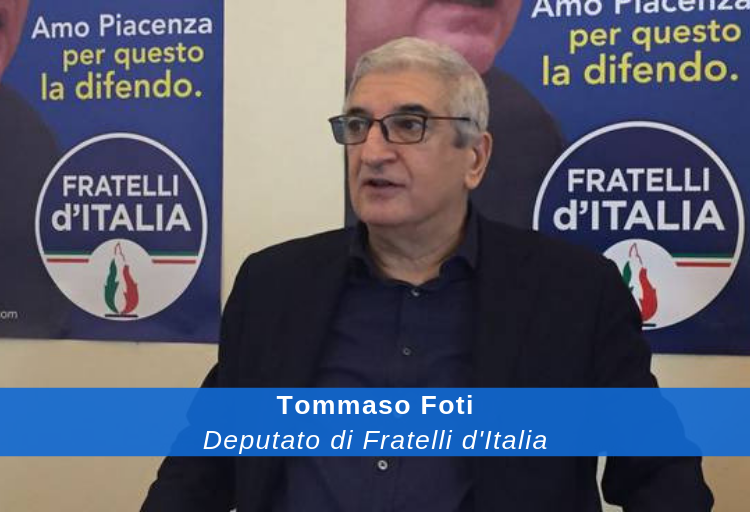 Deputato di Fratelli d'Italia Tommaso Foti