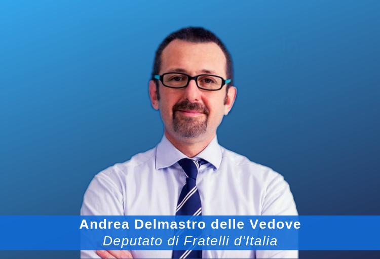 deputato di Fratelli d'Italia Andrea Delmastro Delle Vedove