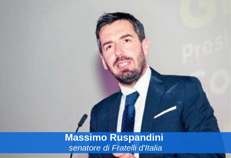 senatore di Fratelli d'Italia, Massimo Ruspandini, capogruppo in Commissione Lavori pubblici.