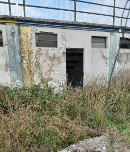 Il campo sportivo di Capannori (LU) versa in condizioni a dir poco pessime