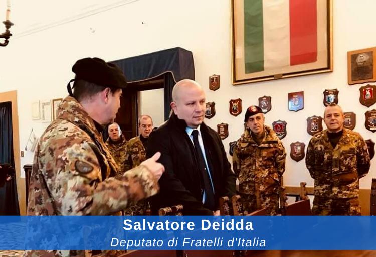 deputato di Fratelli d'Italia Salvatore Deidda, capogruppo FDI in commissione Difesa
