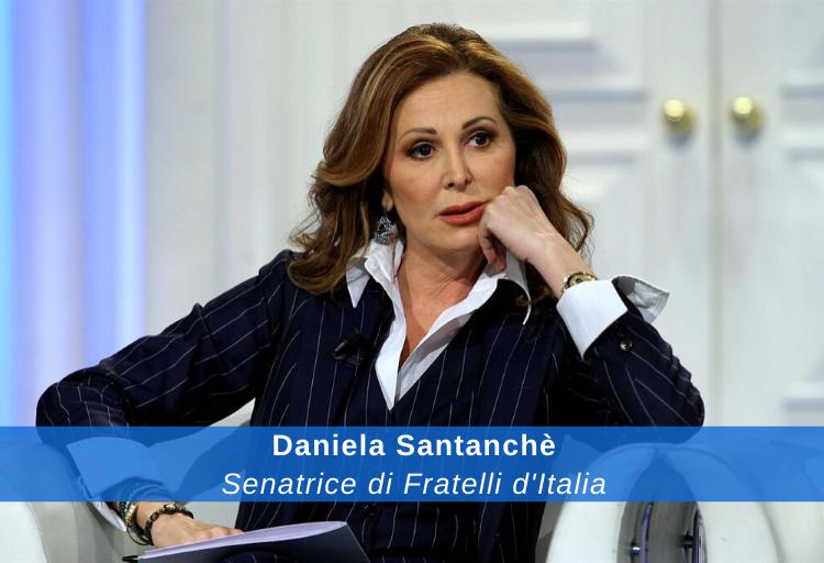 Daniela Santanchè, senatrice di Fratelli d'Italia