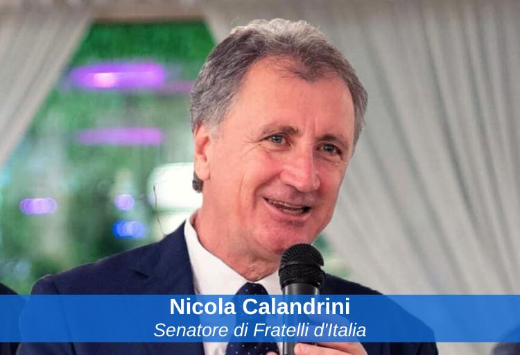 senatore di Fratelli d'Italia, Nicola Calandrini