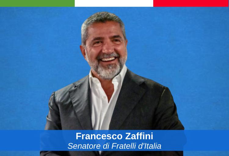 senatore di Fratelli d'Italia, Francesco Zaffini