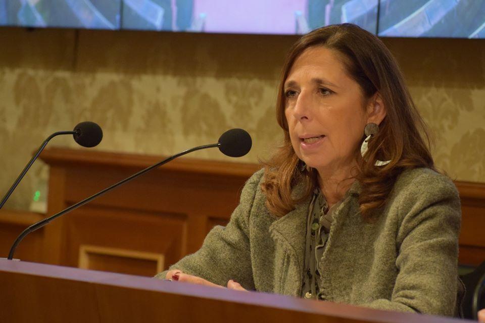 Isabella Rauti, senatrice di Fratelli d'Italia e responsabile del Dipartimento Pari opportunità, famiglie e valori non negoziabili.