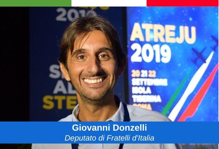 deputato di Fratelli d'Italia Giovanni Donzelli, già vicepresidente della commissione d'inchiesta sul Forteto del Consiglio regionale della Toscana.