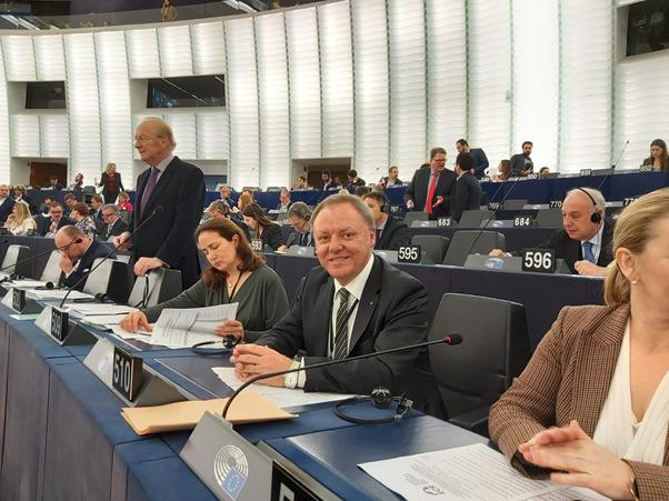 Sergio Berlato, Deputato Italiano al Parlamento Europeo.