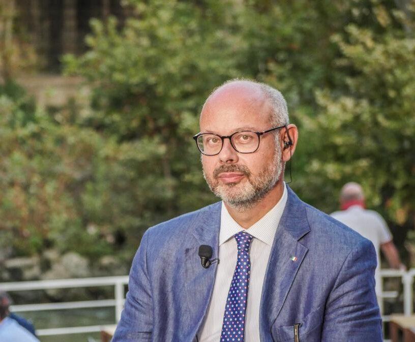 Andrea de Bertoldi, senatore di Fratelli d'Italia.