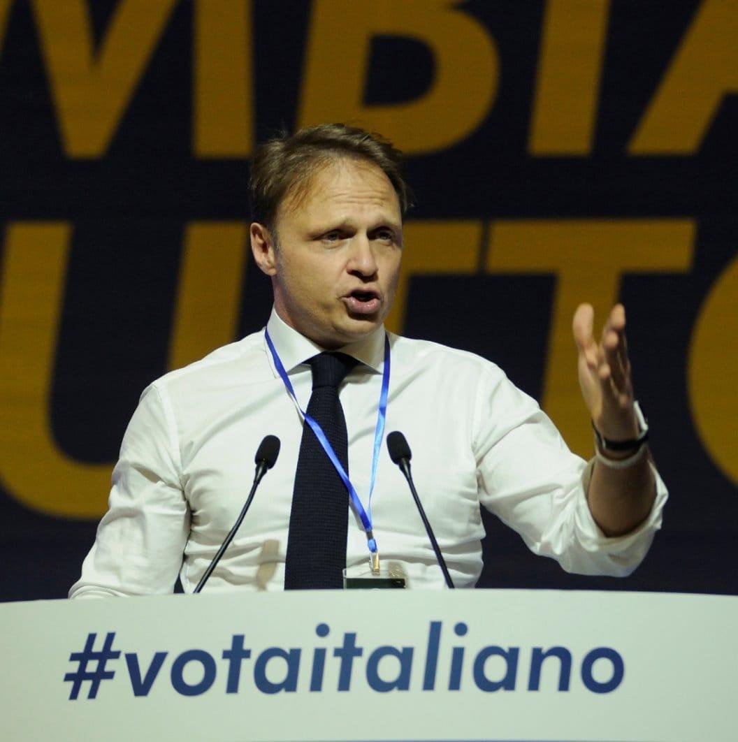 capogruppo di Fratelli d'Italia alla Camera, Francesco Lollobrigida