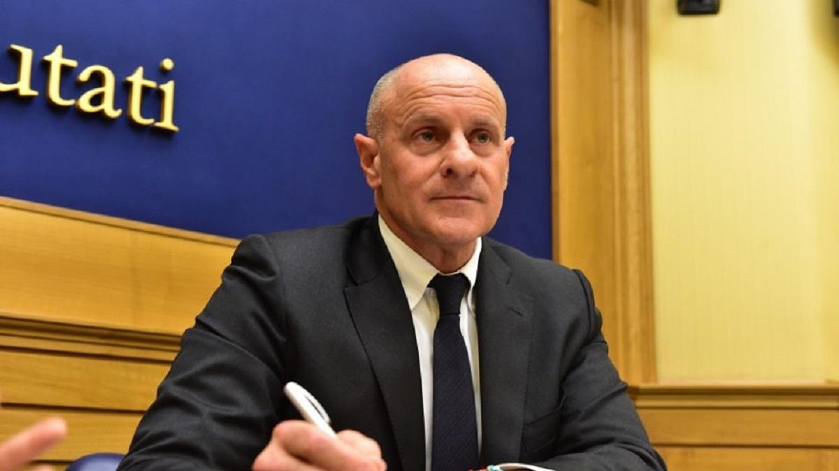 vicepresidente della Camera dei deputati Fabio Rampelli di Fratelli d'Italia.