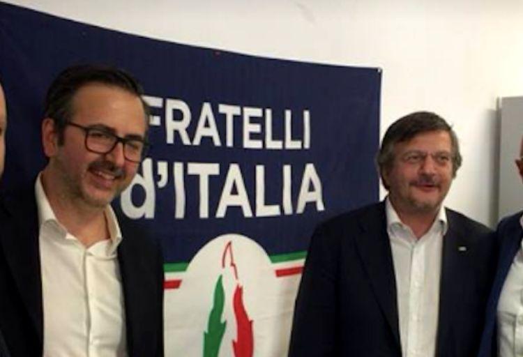 Andrea De Priamo e Fabio Sabbatani Schiuma, capigruppo di Fratelli d'Italia rispettivamente in Assemblea Capitolina e nel Municipio V