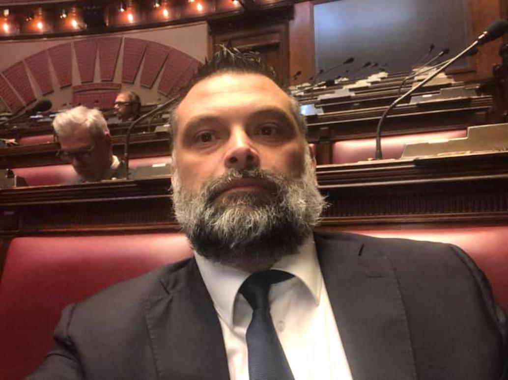 Luca De Carlo, senatore di Fratelli d'Italia.