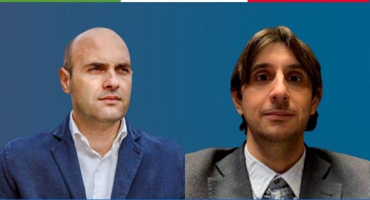 Emanuele Prisco e Giovanni Donzelli, deputati di fratelli d'Italia