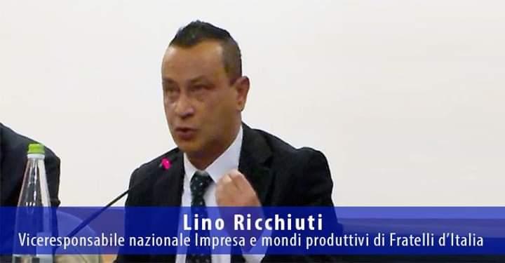 Lino Ricchiuti, viceresponsabile nazionale Imprese e mondi produttivi di Fratelli d'Italia.