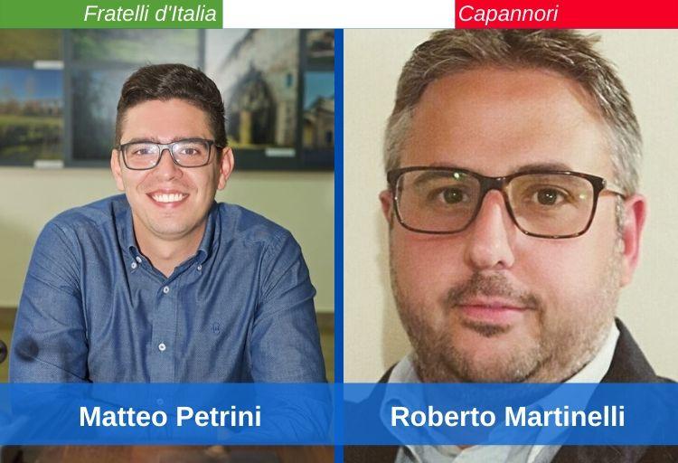 Matteo Petrini e Roberto Martinelli, Fratelli d'Italia Capannori