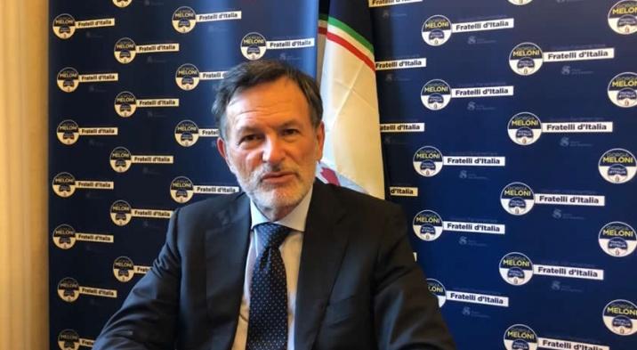 Alberto Balboni, senatore di Fratelli d'Italia.