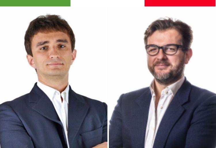 Marco Osnato e Galeazzo Bignami, deputati di Fratelli d'Italia