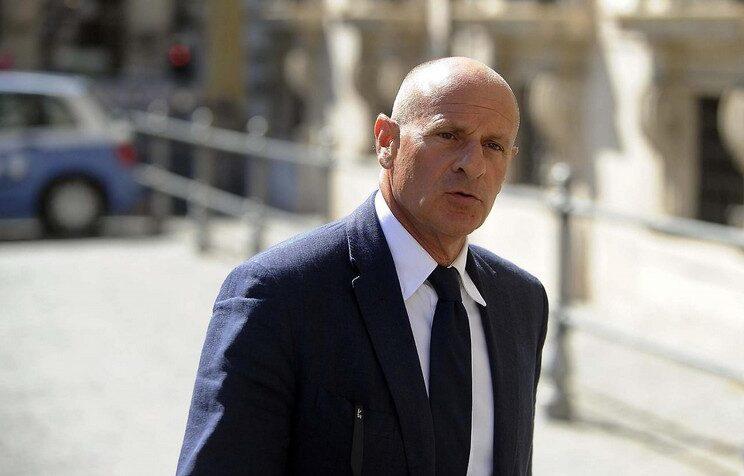 vicepresidente della Camera Fabio Rampelli di Fratelli