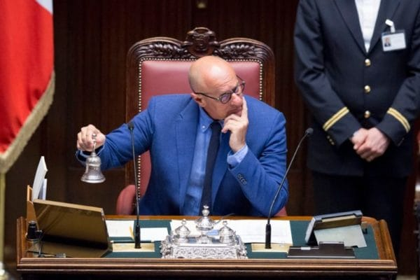 Fabio Rampelli, vicepresidente della Camera e deputato di FdI