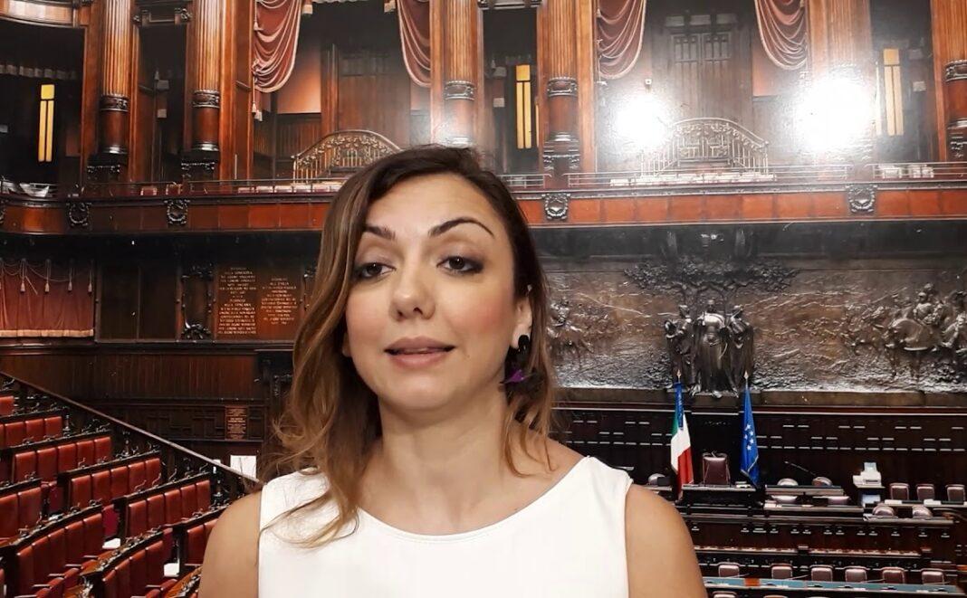 Augusta Montaruli, deputato di Fratelli d'Italia e capogruppo in commissione Politiche Ue.