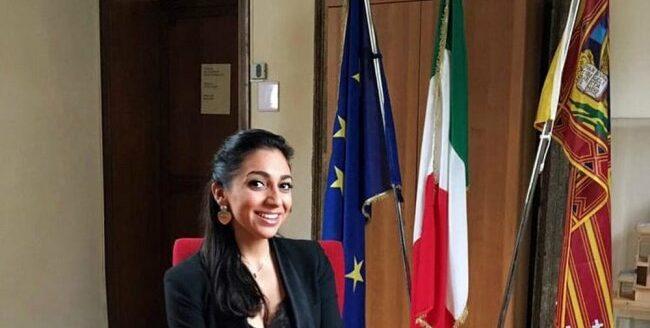 Consigliere Comunale di Padova Elena Cappellini, candidata alle elezioni regionali nella lista Fratelli d'Italia per il rinnovo del Consiglio regionale del Veneto.