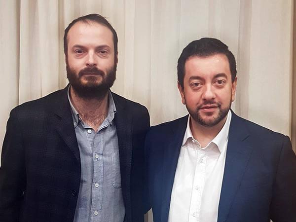 Alessandro Draghi, capogruppo Fratelli d'Italia in Palazzo Vecchio e Francesco Torselli, capogruppo di Fratelli d'Italia in Consiglio regionale
