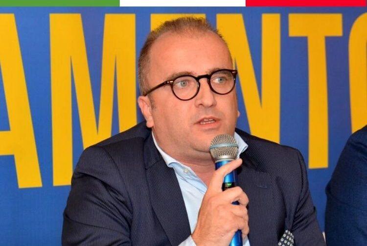 Antonio Iannone, senatore di Fratelli d'Italia e Commissario regionale di FdI in Campania.