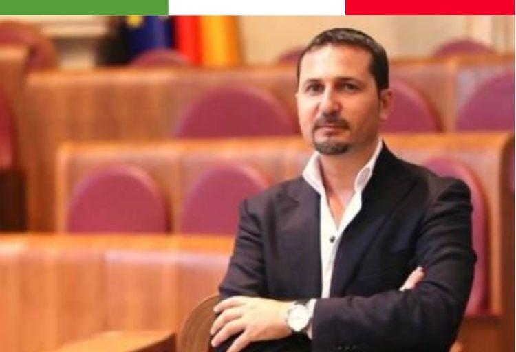 Federico Rocca responsabile regionale di Fratelli d'Italia del Dipartimento Sicurezza e Legalità.