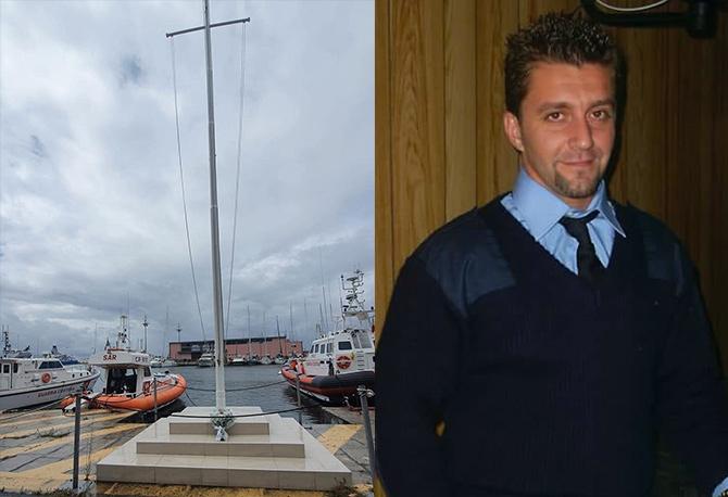 per la scomparsa di Aurelio Visalli, 40 anni, secondo capo della Guardia Costiera di Milazzo