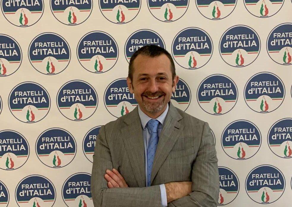 Andrea Delmastro, deputato di Fratelli d'Italia e responsabile Giustizia di FDI.