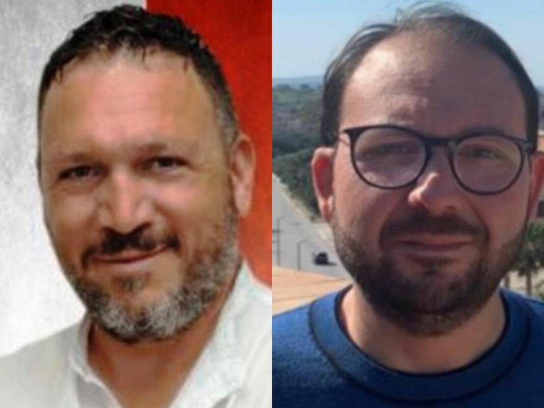 Gerlando Piparo (consigliere comunale FdI) e Calogero Pisano di Fratelli d'Italia