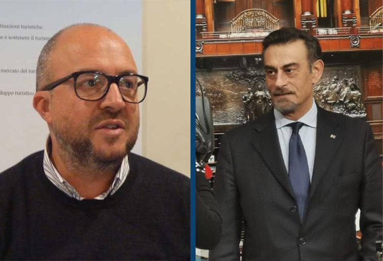 Marco Silvestroni e Mauro Rotelli, deputati di Fratelli d'Italia