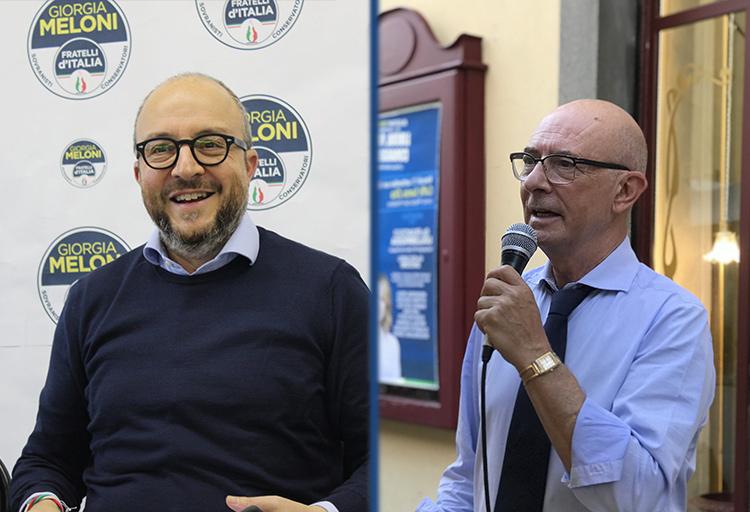 Deputati di Fratelli d'Italia Mauro Rotelli e Riccardo Zucconi