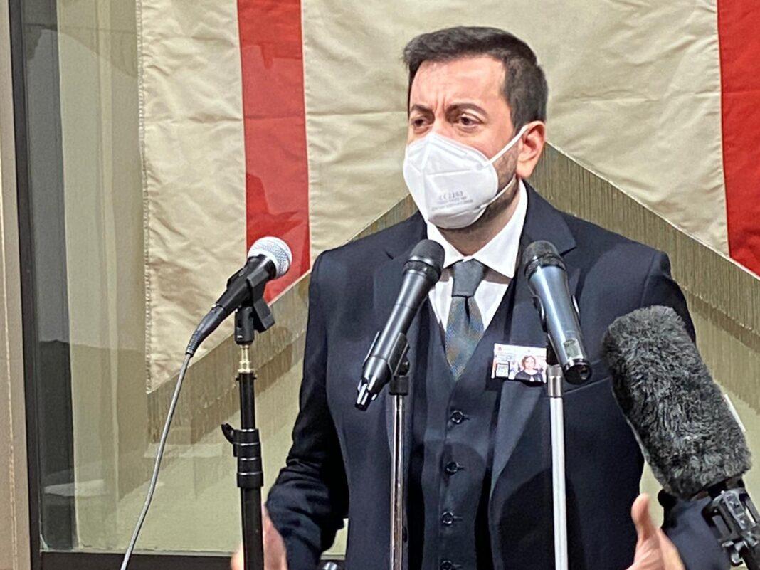 Francesco Torselli, capogruppo di Fratelli d'Italia in Consiglio regionale.