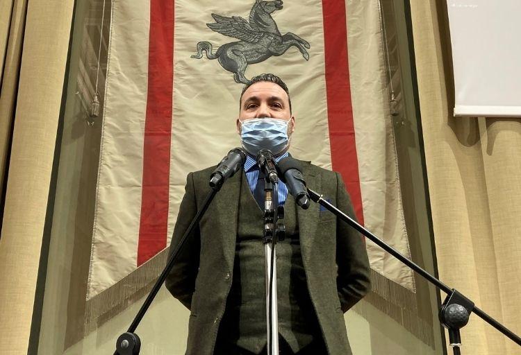 Alessandro Capecchi , consigliere regionale Fratelli d'Italia