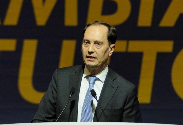 Luca Ciriani, capogruppo dei senatori di Fratelli d'Italia