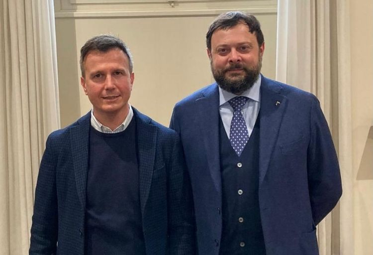 Vittorio Fantozzi, vice-capogruppo FdI in Consiglio regionale, eMarco Martinelli, capogruppo FdI in Consiglio comunale a Lucca