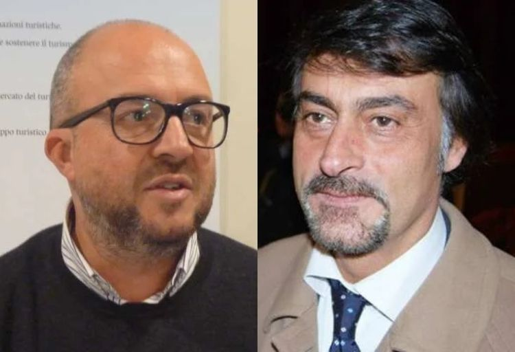 Mauro Rotelli e Marco Silvestroni, deputati di Fratelli d'Italia