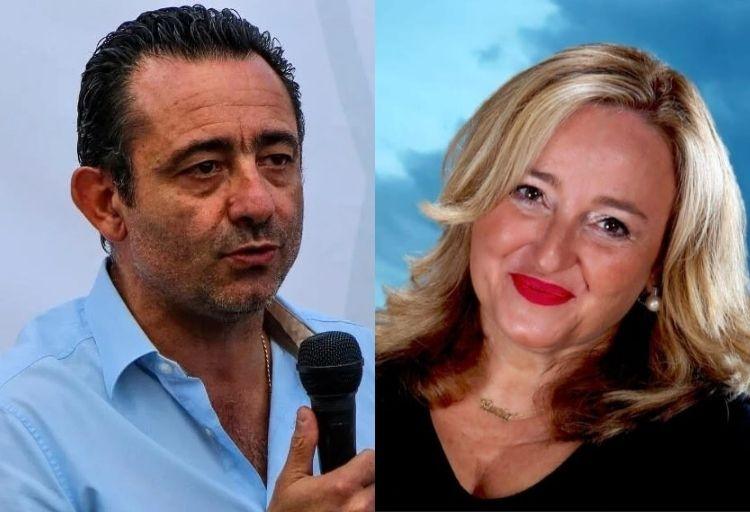 Paolo Trancassini e Lucia Albano, Deputati di Fratelli d'Italia.